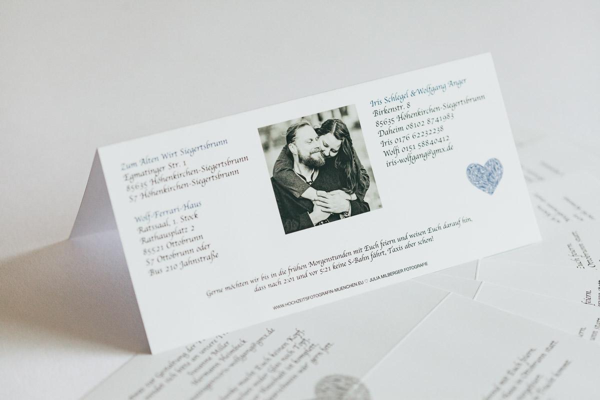 Einladungskarten Hochzeit, Http://www.hochzeitsfotografin Muenchen.eu/