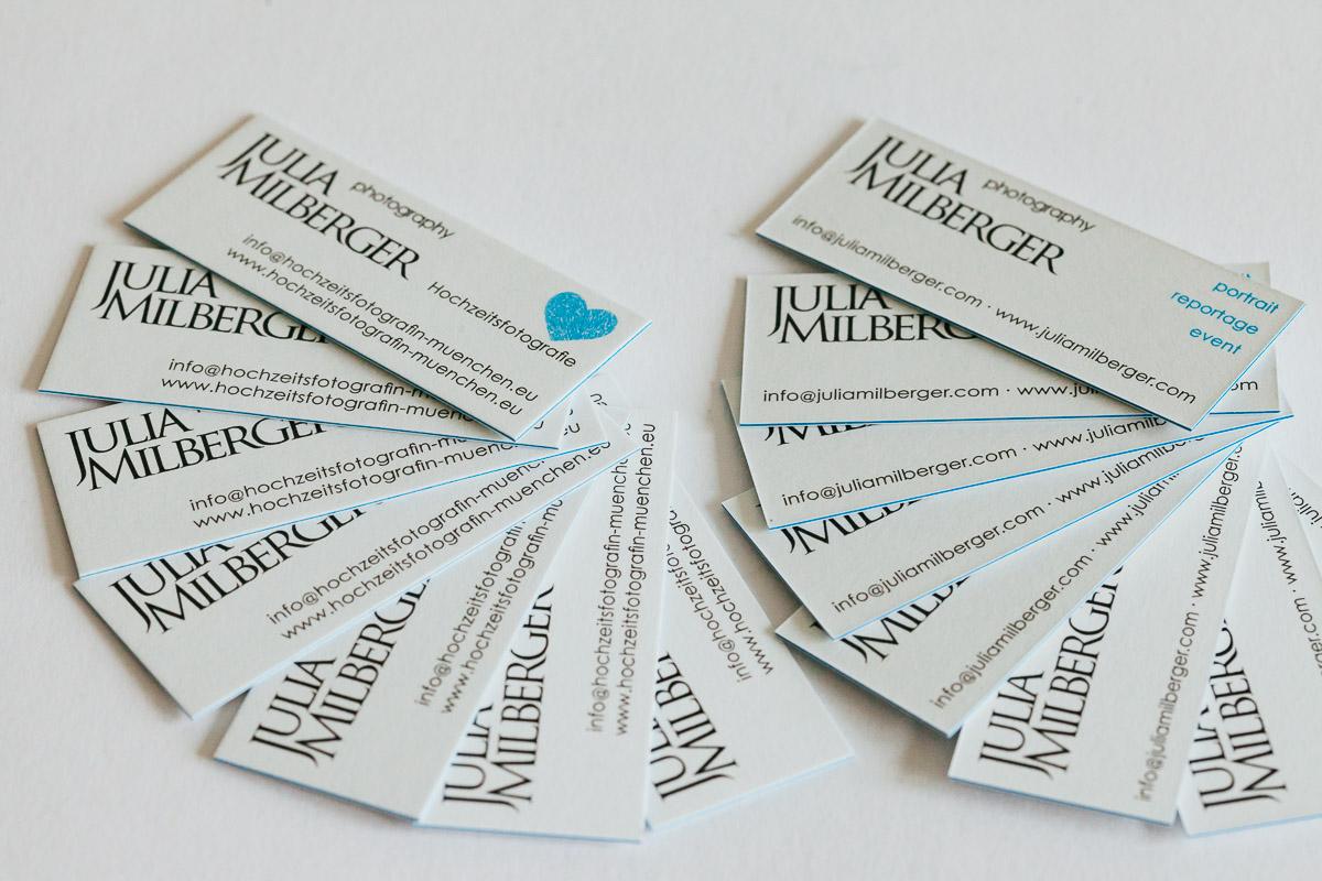 Neue Visitenkarten